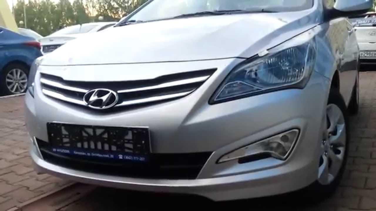 Hyundai Accent (Solaris) Automatic 2016